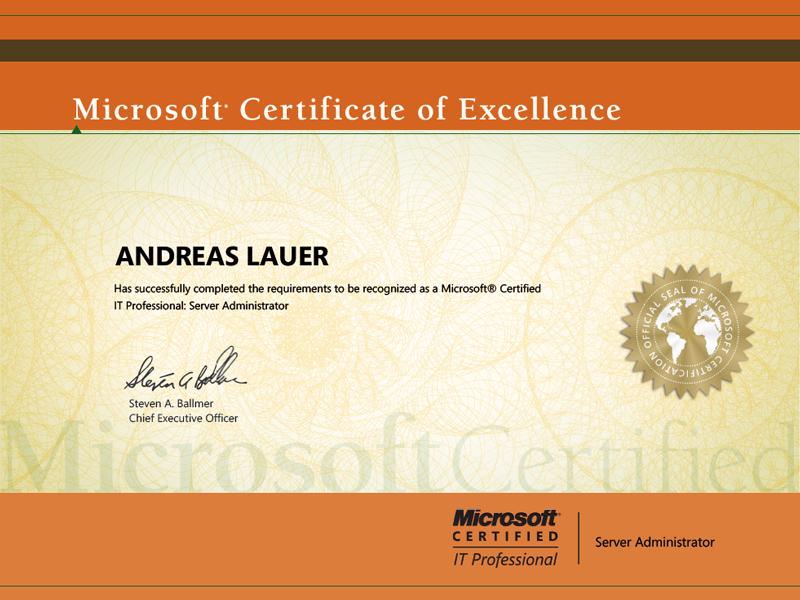 Microsoft Certified IT Professional (MCITP): Server Administrator on Windows Server 2008